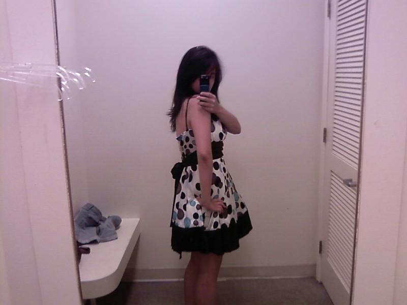 dress #3 side